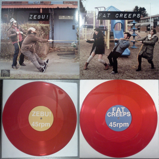"""Fat Creeps / ZEBU! 12"""" Split"""