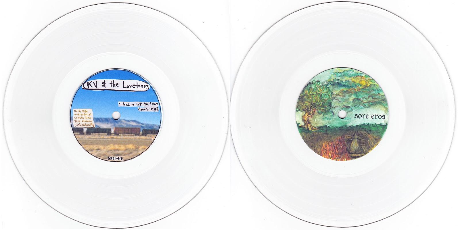Kurt Vile / Sore Eros - Lathe - Feeding Tube Records - Out Of Print